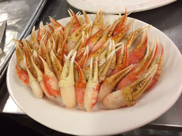 Snow Crab Claws 1 - Stations